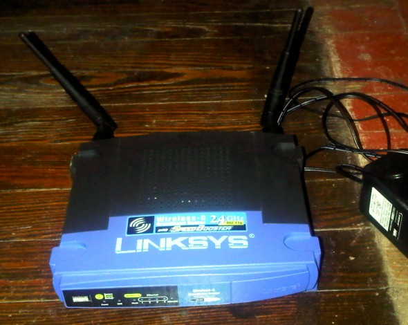 """linksys router"""